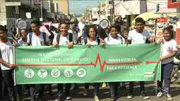 Caminhada encerra Semana do Trânsito em Santa Inês