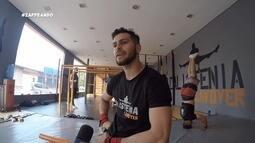 Parte 2: Equipe do 'zapp' participa de um dia de treinamento em uma academia de calistenia
