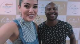 Parte 3: Vivian Amorim bate-papo descontraído com cantor Thiaguinho