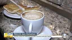 Preço do café com pão varia nas padarias da Zona Norte da capital