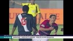 Em 2006, Flamengo derrota o Vasco e leva a Copa do Brasil