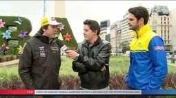 Cacá Bueno e Thiago Camilo falam do retorno da Stock Car a Buenos Aires após dez anos