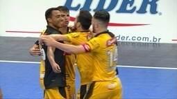 Os gols de Sorocaba 3 x 1 Tubarão pela Liga Nacional de Futsal