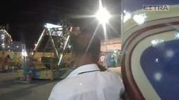 Vídeo mostra pânico em parque de diversões no RJ
