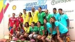 Brasil é tetracampeão do Raia Rápida