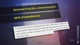 Laudo da reconstituição da morte de delegados aponta inconsistência na versão de suspeito