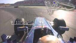 A volta recorde no Circuito das Américas: Sebastian Vettel em 2012