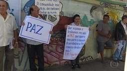 Moradores e trabalhadores da Região Oeste de BH fazem ato pela paz