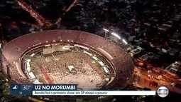 U2 faz show no Morumbi