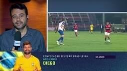 Eric Faria destaca retorno de Diego à Seleção e comentaristas analisam convocação