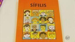 No Dia Nacional de combate à sífilis, mutirão faz conscientização em Poços de Caldas (MG)