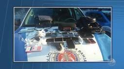 Polícia Militar prende suspeitos de assaltar clínica no Largo de Roma
