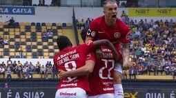 Os gols de Criciúma 2 x 3 Internacional pela 31ª rodada da Série B