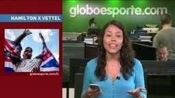 GE no Giro traz destaques de NBB, atletismo, Fórmula 1 e vôlei