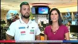 Giro Paralímpico: Alan Fonteles melhora o tempo nos 200m antes do Mundial em Portugal