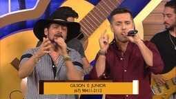 Gilson e Junior cantam em homenagem a Zé Rico!