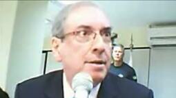 Cunha diz que suposta compra de seu silêncio foi 'forjada para derrubar Temer'