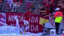 Os gols de Internacional 1 x 1 Vila Nova pela 35ª rodada do Brasileirão