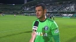 """Wilson após a partida contra a Ponte: """"O empate acabou sendo justo"""""""