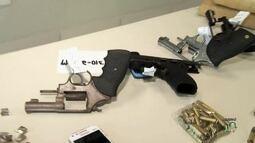 Polícia já apreendeu neste ano mil armas a mais que o total de 2016