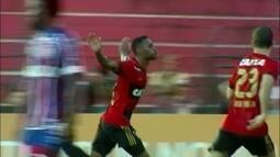 O gol de Sport 1 x 0 Bahia pela 36ª rodada do Campeonato Brasileiro