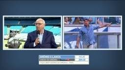 Presidente minimiza acusação do uso de drone por parte do Grêmio