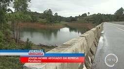 Polícia investiga morte de jovem na represa de Paraibuna