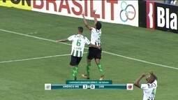 Jornalistas elogiam América-MG e lembram que Rafael Lima fez o gol do título