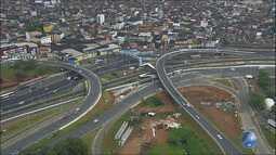 Veja imagens do trânsito no Acesso Norte e na LIP