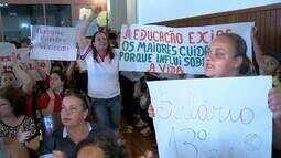 Diretores de creches protestam contra falta de repasse de recursos em Juiz de Fora