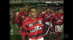 Romário relembra final da Supercopa contra o Independiente em 1995