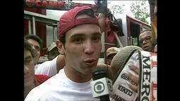 No título da Mercosul de 1999, Caio Ribeiro era xodó da torcida do Flamengo