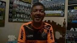 Torcedor do Galo coleciona quadros do clube em Rondônia
