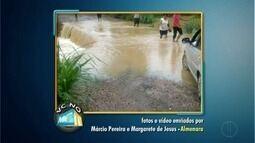 VC no MGTV: Confira os vídeos e fotos enviados pelos moradores de Almenara