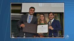 Empresário Aldo Benevides recebe o título de cidadão da cidade do Salvador