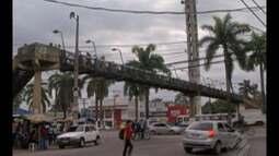 Secretaria de Transportes anuncia interdição de passarela na BR-316, em Ananindeua