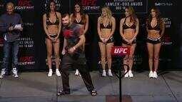 UFC: Veja como foi a pesagem de Julian Marquez x Darren Stewart