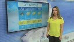 Confira a previsão do tempo para este sábado (16) no Sul de Minas
