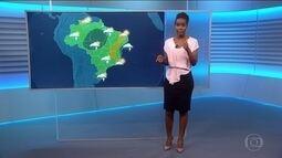 Veja a previsão do tempo para domingo (17) no Brasil