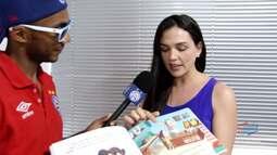 TV Bahêa - Conheça os novos livros infantis para os pequenos tricolores