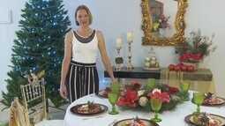 Aprenda dicas de como decorar uma mesa para Ceia de Natal