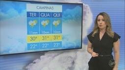 Confira Previsão do Tempo para a região de Campinas nesta terça-feira