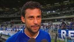 """Fred sobre reestreia no Cruzeiro: """"Deu para sentir que a bola vai chegar em mim toda hora"""""""