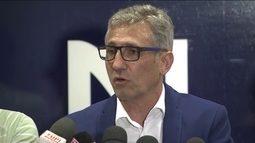 """Novo presidente do Vasco, Alexandre Campello rebate acusação de """"traição"""" de Julio Brant"""