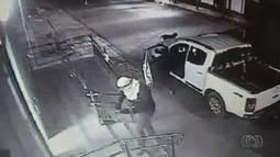 Três homens são presos suspeitos de furtar cofres de bancos, lotéricas e Correios em GO