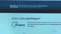 Começa prazo de inscrição em universidades pelo Sisu
