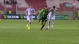 Melhores momentos de América-MG 2 x 0 Tupi pelo Campeonato Mineiro