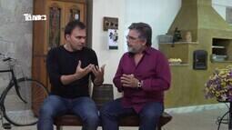 Mário conhece radialista de Barbacena