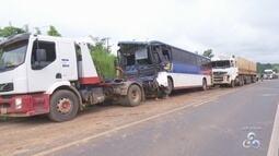 Homem morre durante acidente grave na Br-364