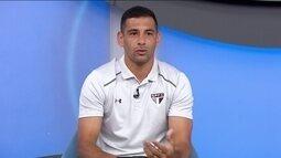 Diego Souza fala do início no São Paulo e posição que prefere jogar